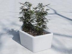 - Low Flower pot WEDGE - SIT