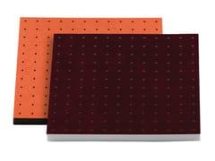 - Fabric decorative acoustical panels VISQUARE PRO 60.4 - Vicoustic by Exhibo