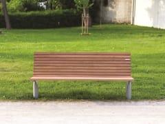 Panchina in legnoVLTAU | Panchina - MMCITÉ1