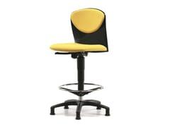 - Sedia ufficio operativa in tessuto a 5 razze per disegnatore VULCAN 1325 - TALIN