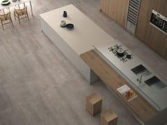- Porcelain stoneware kitchen worktop W-SOLID ITOPKER   Kitchen worktop - INALCO - INDUSTRIAS ALCORENSES CONFEDERADAS