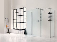 - Glass shower wall panel WALK IN 6mm - 1 - INDA®