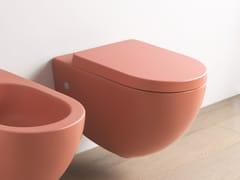 Wc sospeso in ceramicaFILE 2.0 | Wc sospeso - ARTCERAM