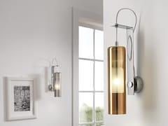 Applique in vetro borosilicato metallizzatoTAO | Applique - CANGINI & TUCCI