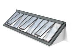 Finestra da tetto in acciaio e vetroWALL-MOUNTED LONGLIGHT 5-40° - VELUX