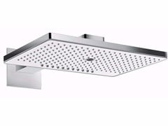- Wall-mounted rain shower with arm RAINMAKER SELECT | Wall-mounted overhead shower - HANSGROHE