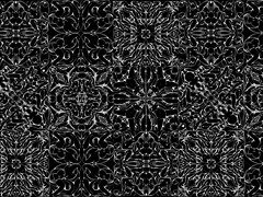 - Motif wallpaper DOMINAMI BLACK - Wallpepper