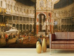 - Carta da parati trompe l'oeil THE INTERIOR OF THE ROTUNDA - Wallpepper