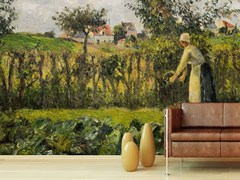 - Landscape wallpaper IL TAGLIO DELLA SIEPE - Wallpepper