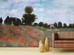 - Trompe l'oeil wallpaper I PAPAVERI - Wallpepper