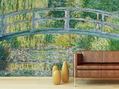 - Wallpaper BASSIN AUX NYMPHEAS, HARMONIE VERTE - Wallpepper