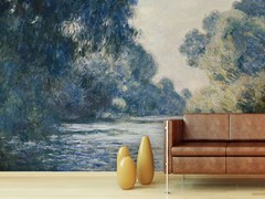- Trompe l'oeil wallpaper LA SENNA PRESSO GIVERNY - Wallpepper