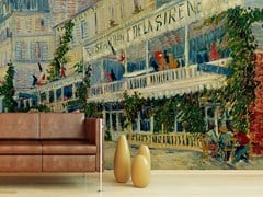 - Trompe l'oeil wallpaper RESTAURANT DE LA SIRENE - Wallpepper