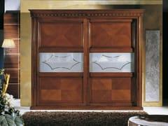 - Wooden wardrobe with sliding doors CASANOVA | Wardrobe with sliding doors - Arvestyle