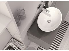 - Countertop Mineralmarmo® washbasin LA451 | Countertop washbasin - INBANI