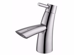- Countertop single handle 1 hole chromed brass washbasin mixer TAI CHI | Washbasin mixer - JUSTIME