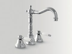 - 3 hole countertop washbasin tap with adjustable spout DOVER | Washbasin tap with adjustable spout - BATH&BATH