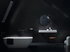 Lavabo in Solid Surface con pianoFREE | Lavabo con piano - CERASA