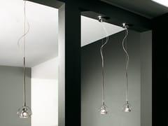 - Crystal pendant lamp WEDGE 1 L | Pendant lamp - LUCENTE - Gruppo Rostirolla