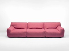 - Sectional sofa with removable cover WELCOME | 4 seater sofa - Paola Lenti