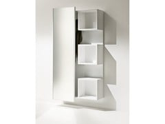 - Wall-mounted wood fibre hallway unit WELCOME | Lacquered hallway unit - Pacini & Cappellini