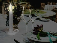 Lampada da tavolo a LED in porcellanaWERSAILLES LE BOUGEOIR - BEAU & BIEN