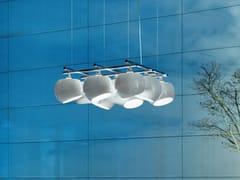 - LED porcelain pendant lamp WHITE MOONS 3 X 3 | Pendant lamp - LICHT IM RAUM