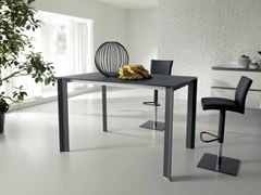 - Extending rectangular aluminium table WING UP - Ozzio Italia