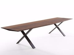 - Lacquered wooden bench LAX | Wooden bench - more