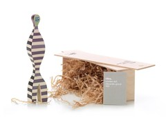- Wooden sculpture WOODEN DOLL N.16 - Vitra