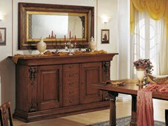 - Solid wood sideboard with doors MACCHIAVELLI | Wooden sideboard - Arvestyle