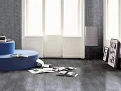 - Porcelain stoneware flooring with wood effect WOODY - CERAMICHE BRENNERO