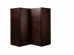 Paravento in legno impiallacciatoTAU | Pannello divisorio - ULTOM