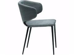 - Upholstered chair WRAP | Restaurant chair - Midj
