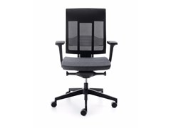 - Swivel task chair with 5-Spoke base with armrests XENON NET 101SL - profim