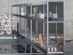 Canale attrezzato per cucina in acciaio inoxXPLAIN - ZAMPIERI CUCINE