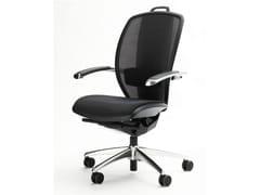 Poltrona ufficio direzionale girevole con schienale altoXTEN® | Poltrona ufficio direzionale - ARES LINE