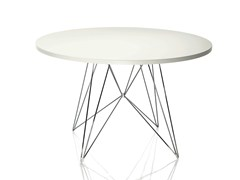 - Round MDF table XZ3 | Round table - Magis
