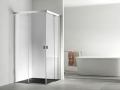 - Corner glass shower cabin YOVE 4 - Systempool