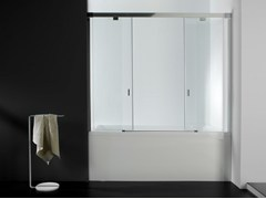 Parete per vasca in vetroYOVE 9/9B - SYSTEMPOOL KRION® PORCELANOSA SOLID SURFACE