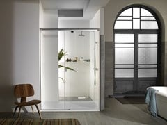 - Rectangular glass shower cabin YOVE 9 - Systempool