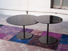 - Tempered glass coffee table for living room ZAIKIN - Domingo Salotti