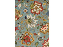 - Rug with floral pattern ZAMORA - Jaipur Rugs