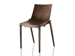 - Wood fibre chair ZARTAN RAW - Magis