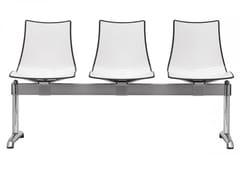 - Plastic beam seating ZEBRA BICOLORE | Beam seating - SCAB DESIGN