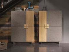 - Lacquered highboard with doors ZEN | Highboard - Dall'Agnese