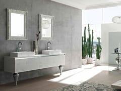 - Sistema bagno componibile ZERO4 MARMO - COMPOSIZIONE 13 - Arcom