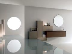 - Sistema bagno componibile ZERO4 VETRO - COMPOSIZIONE 3 - Arcom