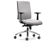 - Swivel fabric task chair with casters ZERO7 | Fabric task chair - Ares Line