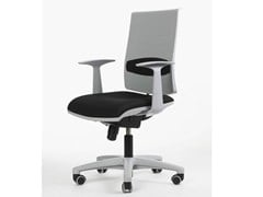 - Swivel task chair with 5-Spoke base with casters ZERO7 | Task chair - Ares Line